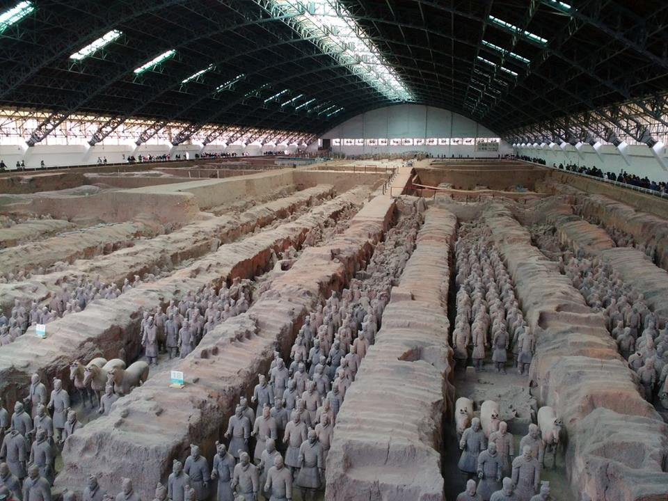 Top 10 Travel Destinations for Interns in China - Xi An Warriors