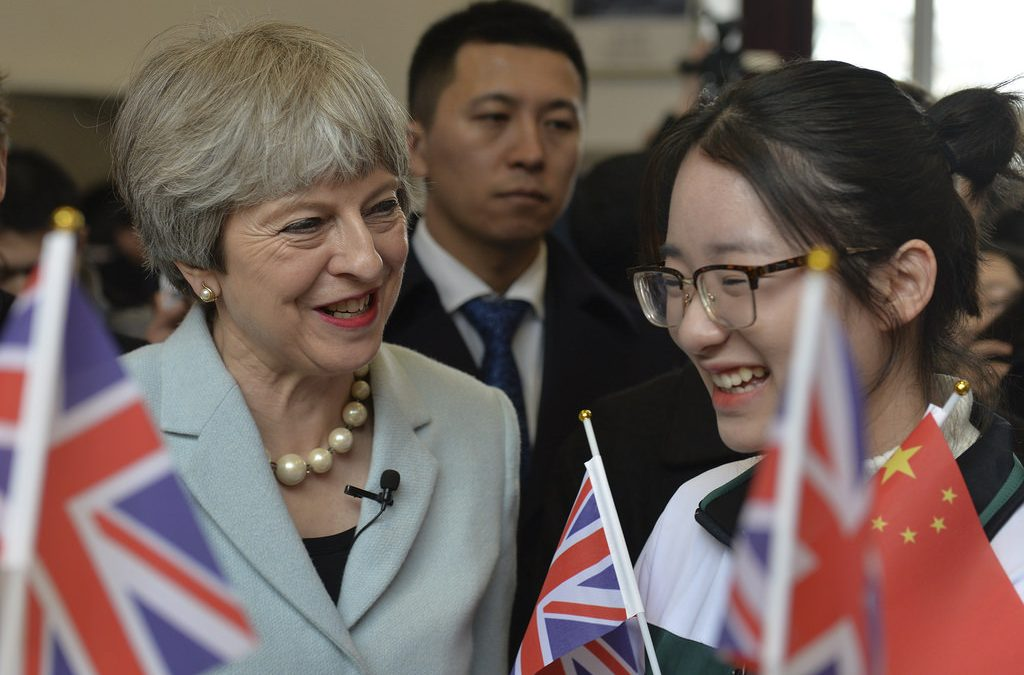Theresa May CRCC Asia Contribute to UK-China Relations