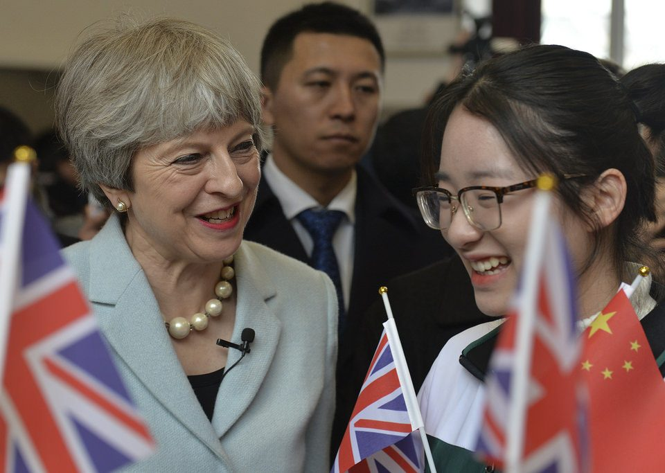 Theresa May CRCC Asia Contribute to UK-China Relations