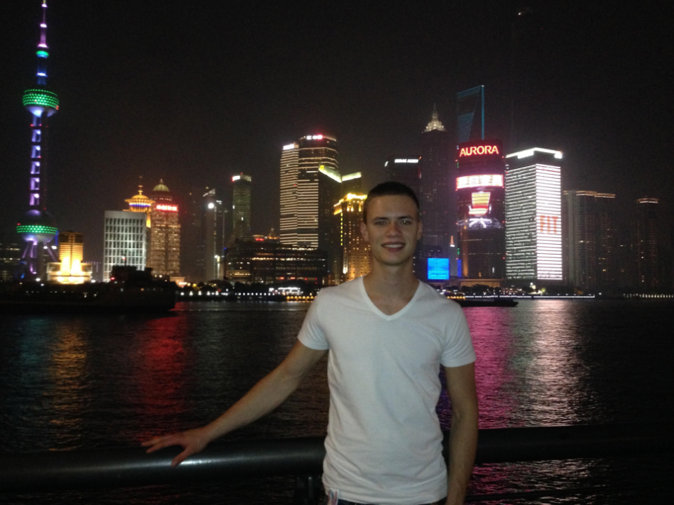 Simon Interning in Shanghai