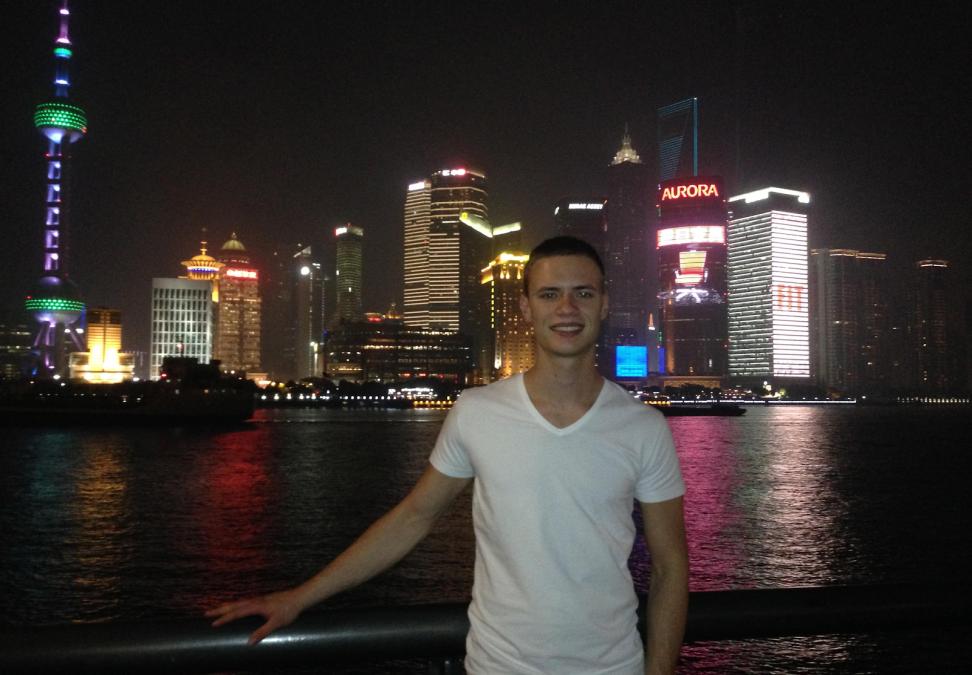 Simon Interning in Shanghai