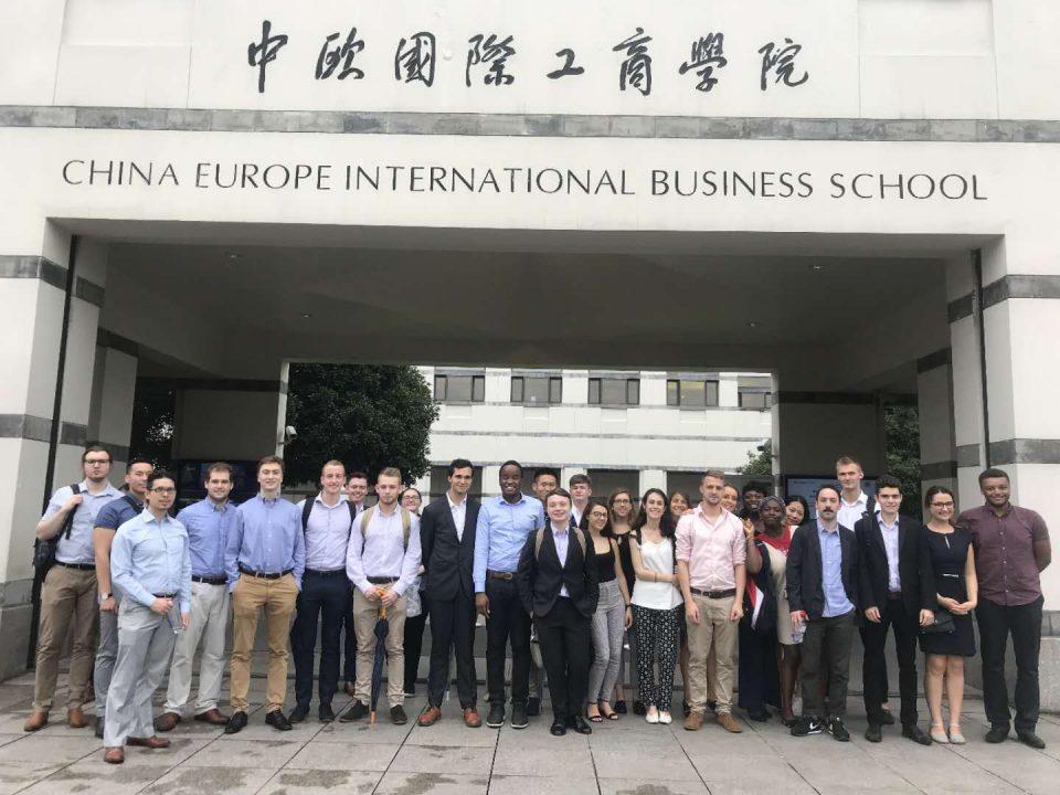 Digitralization of China - CRCC Visit the China Europe International Business School