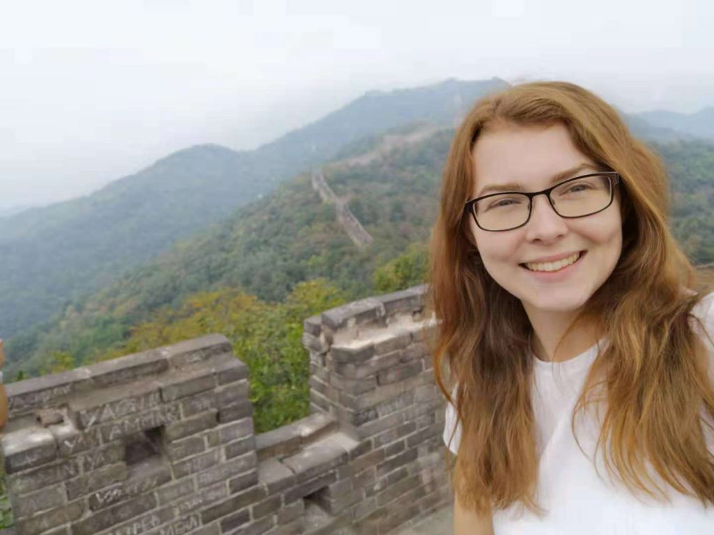 CRCC Asia intern Hollie visits the Great Wall of China