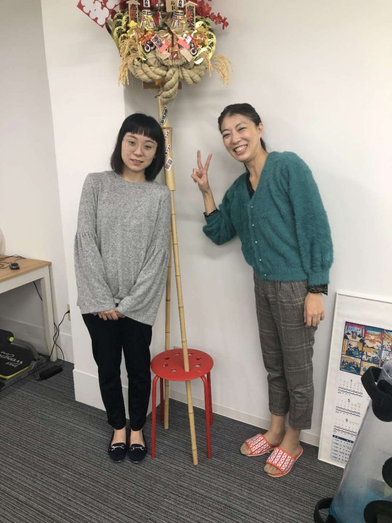 How to Get a Job in Japan - A CRCC Asia intern meets their supervisor on their first day in Tokyo