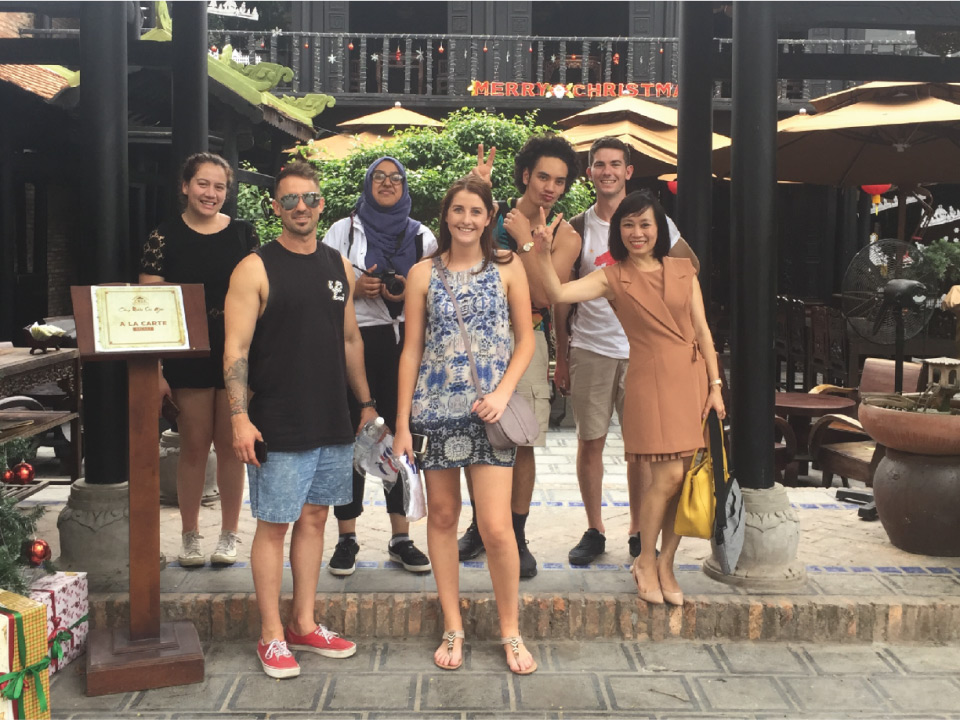 Nick badger internship in Vietnam with CRCC Asia