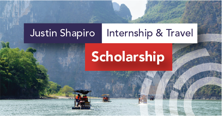 Justin Shapiro Internship and Travel Scholarship with CRCC Asia