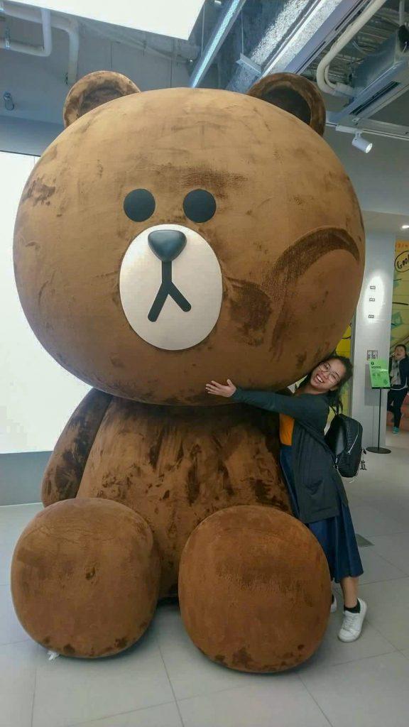 Interning in Japan: Big brown bear bug!