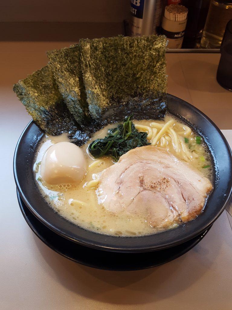 Interning in Japan: ramen near tokyo dome
