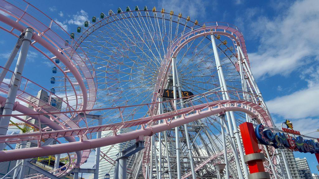 interning in Japan yokohama theme park - what to do when interning in Japan