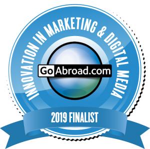 NAFSA 2019 GoAbroad Finalist Innovation in Marketing & Digital Media