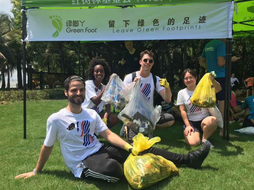 digital marketing internship summer cleanup day in shenzhen