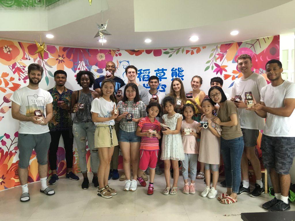 digital marketing intership summer volunteer day at the kindergarden