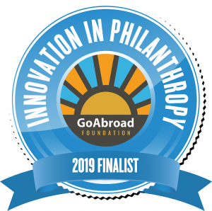 Social Responsibility NAFSA 2019 GoAbroad Finalist Innovation in Philanthropy