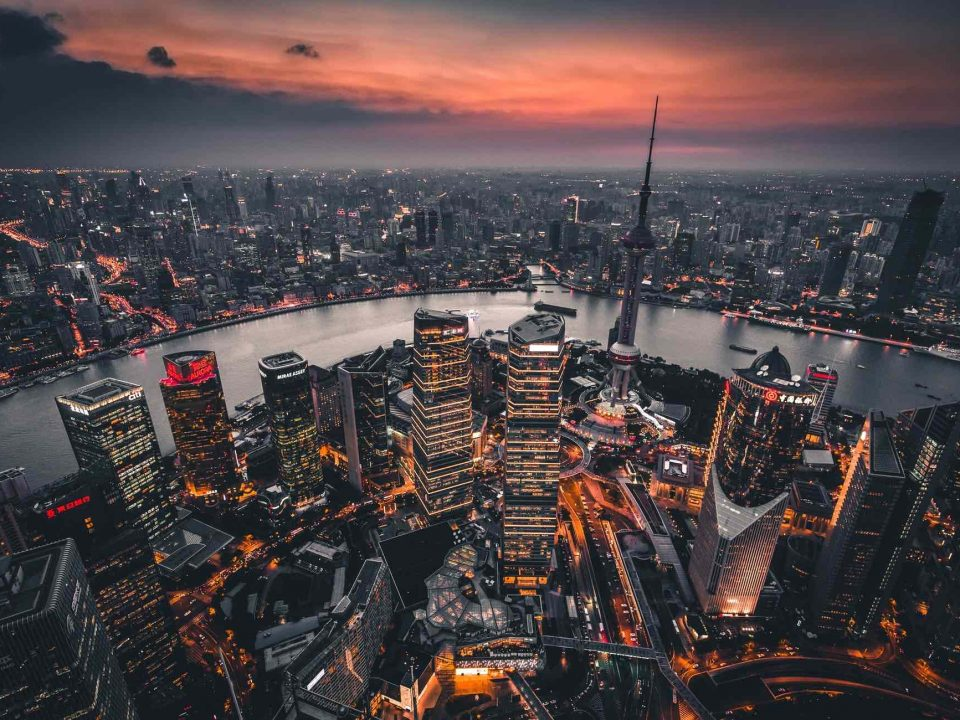 Internships Abroad - City scape of shanghai, china