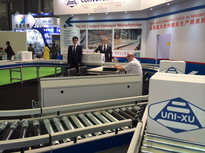 Uni XU Conveyor Units at Shanghai EXPO - Internships Abroad