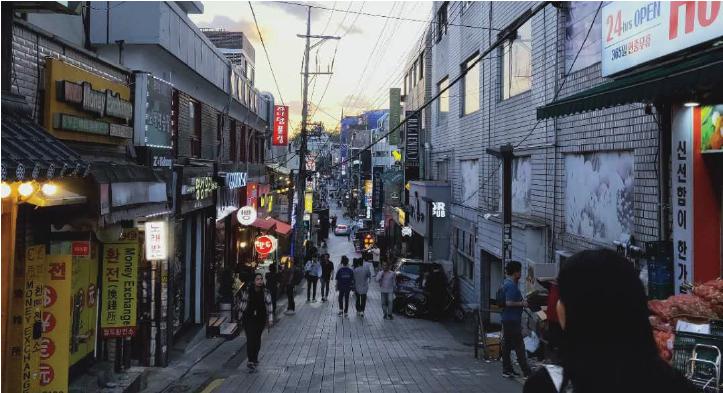 itaewon seoul street