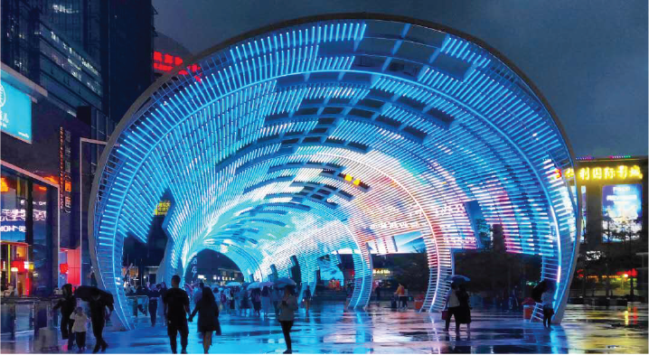 shenzhen international internship program dates light tunnel