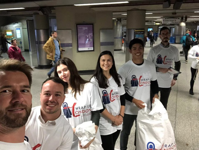 Wrap Up London CRCC Asia in Tube Station for CSR Month