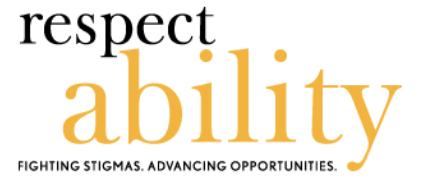 RespectAbility Logo on CRCC Asia