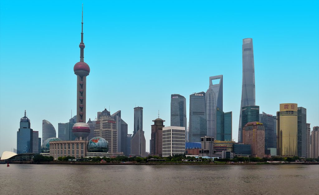Internships in China - Shanghai day