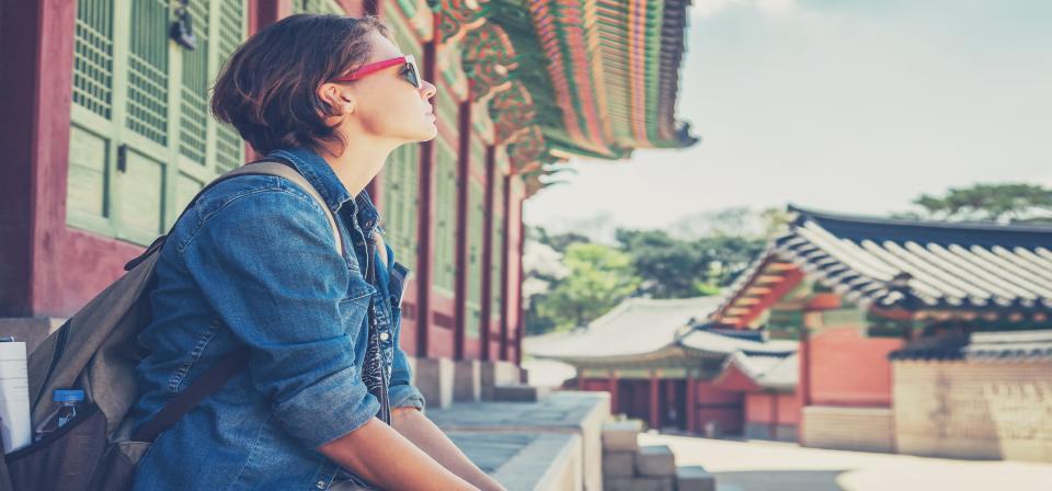 Girl on Internship in Seoul