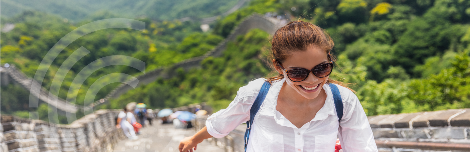 CRCC Asia Internships Abroad in China on the Great Wall Girl