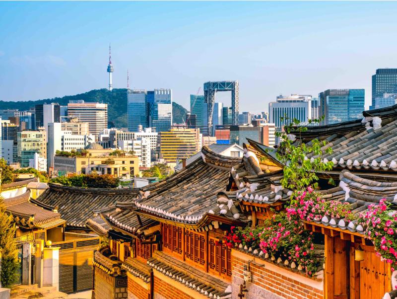 City Scape of Seoul - Internships in Seoul