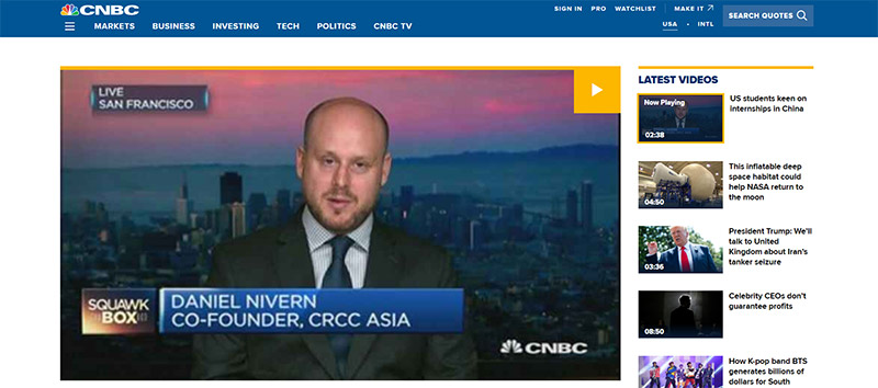CNBC video article